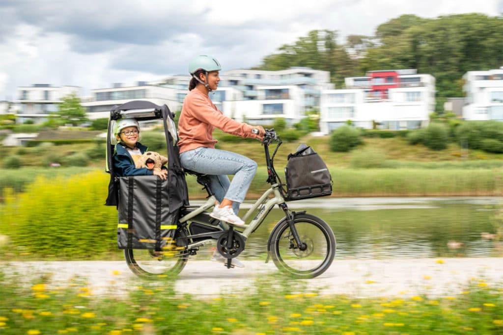 Clubhouse Fort Mini für E-Cargobikes HSD und GSD von Tern