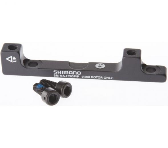 SHIMANO Scheibenbremsadapter Postmount +43mm auf 203 mm