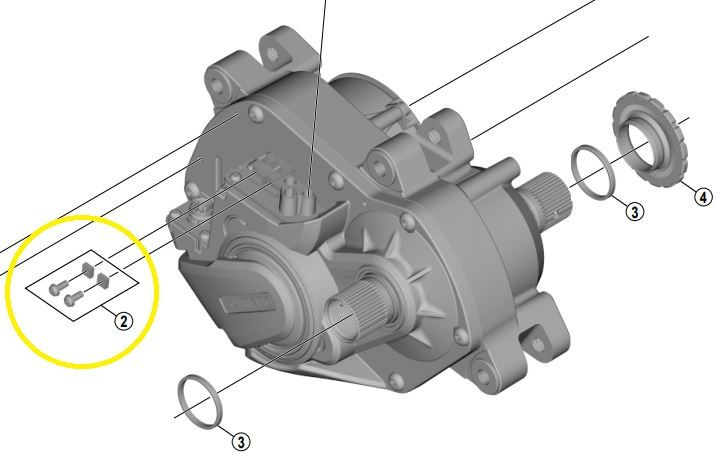 SHIMANO Schrauben und Mutter Y-72F98010 für Lichtanschluss STEPS Antriebseinheit DU-E8000, DU-E7000, DU-E6100 Bild 1