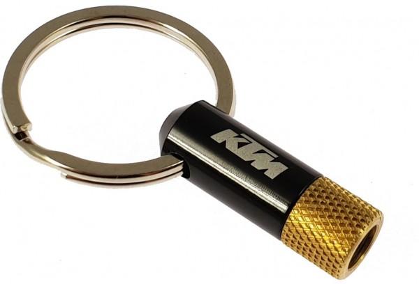 KTM Presta Ventiladapter Schlüsselanhänger