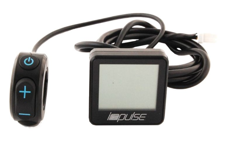 DerbyCycle / Kalkhoff Impulse EBike LCD-Compact-Display