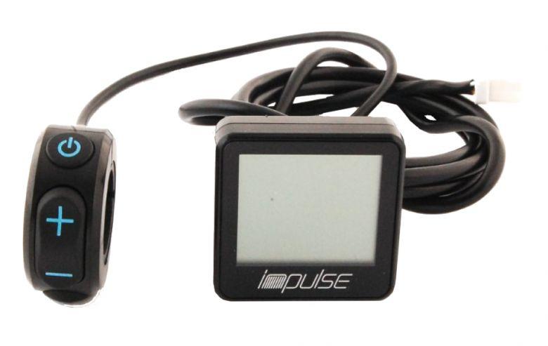 DerbyCycle / Kalkhoff Impulse EBike LCD-Compact-Display