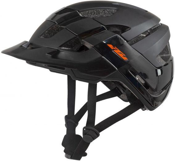 KTM Factory Hybrid Fahrradhelm schwarz matt/schwarz glänzend