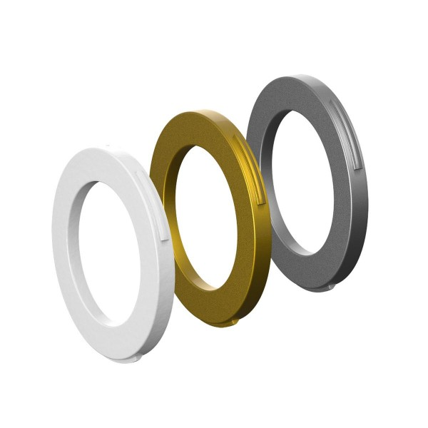 Magura Blenden-Ring Kit für Bremszange weiß, gold, silber