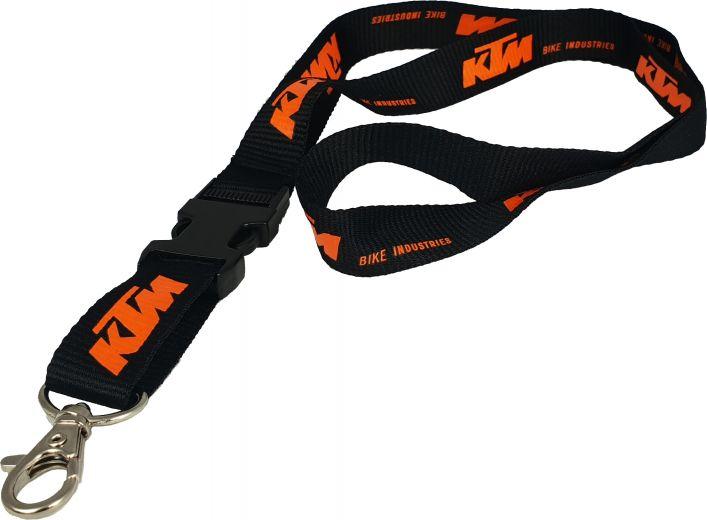 KTM Schlüsselanhänger Key-Holder schwarz/orange