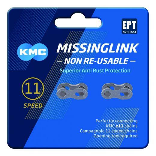 KMC e11 EPT MissingLink Kettenverschluss