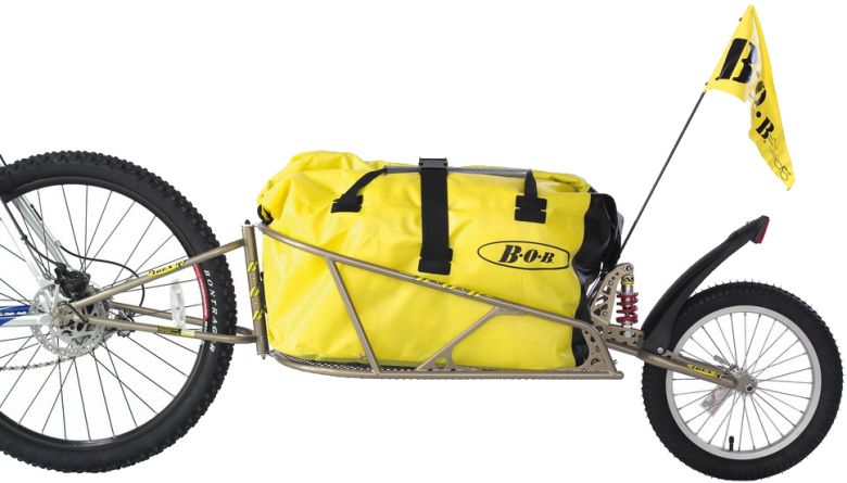 BOB Ibex - gefederter Lasten- und Transportanhänger mit BOB Bag