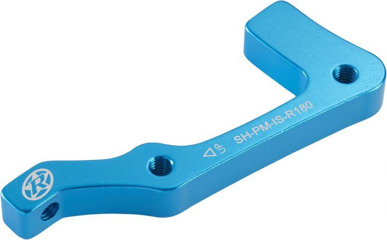 REVERSE Bremsscheibenadapter IS-PM 180 Shimano HR Hellblau