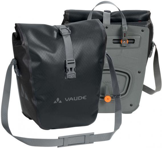 Vaude Aqua Front Elektrofahrrad Vorderradtasche Paar Schwarz