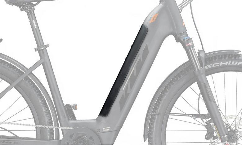 KTM PowerTube Cover US-Frame - Tiefeinsteiger - black matt