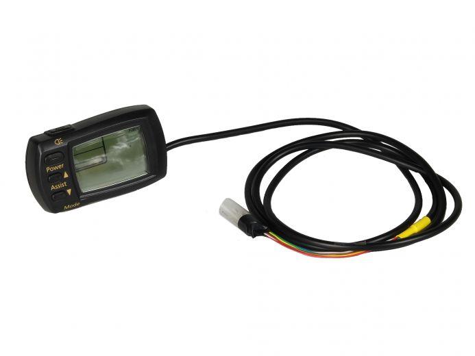 Panasonic LCD Display Deluxe 36V mit Restreichweite