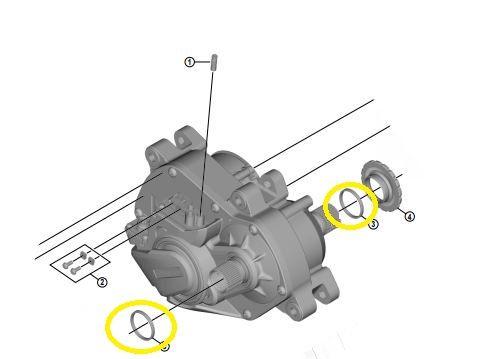 SHIMANO Distanzring für Antriebsachse STEPS Antriebseinheit DU-E8000