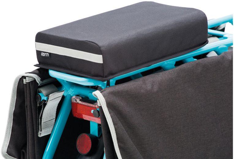 Tern Sitzpolsterung - Sidekck Seatpad - montiert
