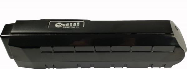 Giant Rahmen Akku 500 Wh - schwarz glänzend