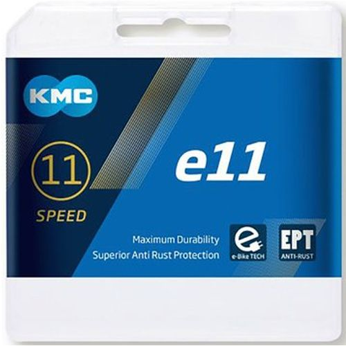 KMC e11 EPT - E-Bike Kette - 122 Glieder silber