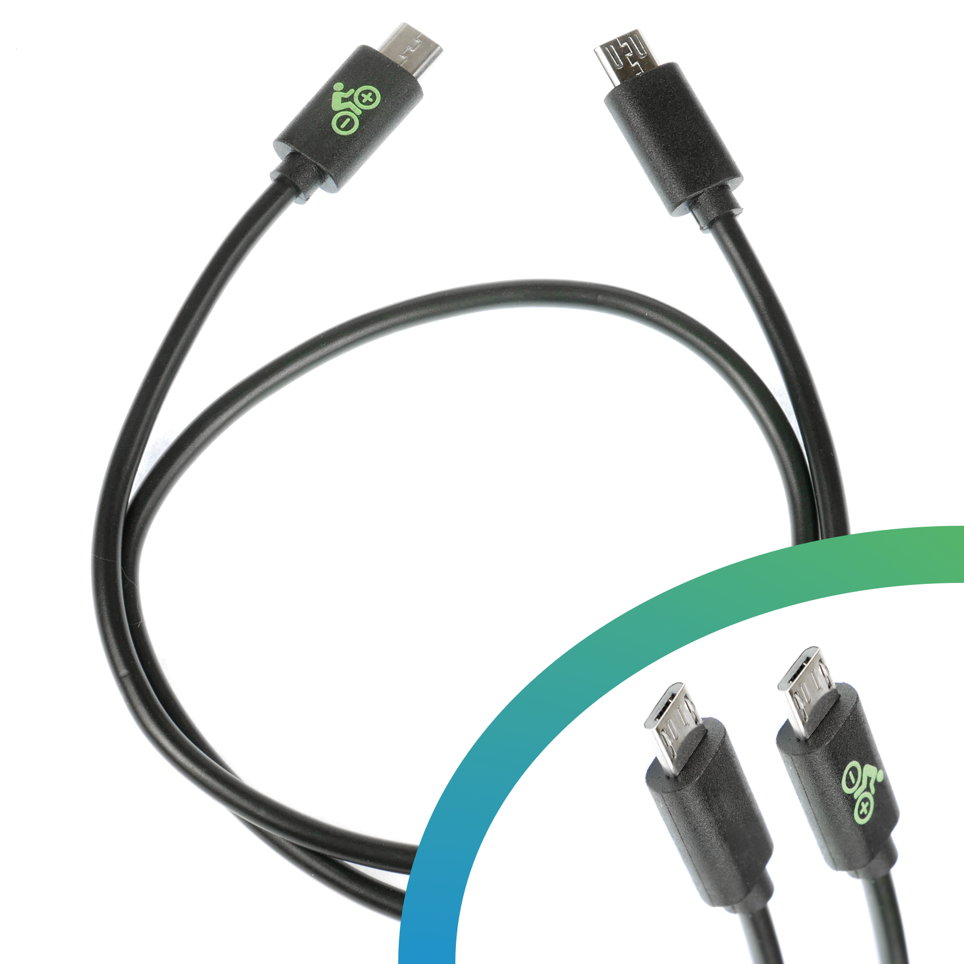Micro USB auf 3.1 Typ C gewinkelt Kabel 30cm für Yamaha Display C eBike