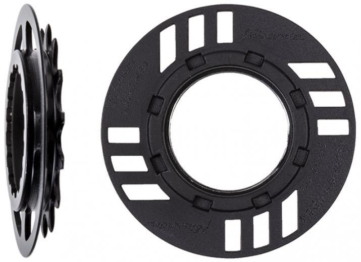 Miranda Kettenschutz-Set für E-Bike mit Kettenblatt 15 Zähne, offset 8,65 mm