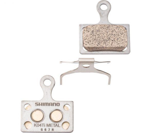 SHIMANO Scheibenbremsbelag K04Ti Metall