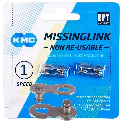 KMC e1 NR EPT MissingLink Kettenverschluss