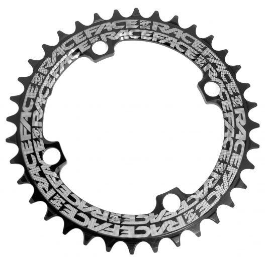 Race Face Kettenblatt Narrow Wide 36 Zähne 104mm - schwarz