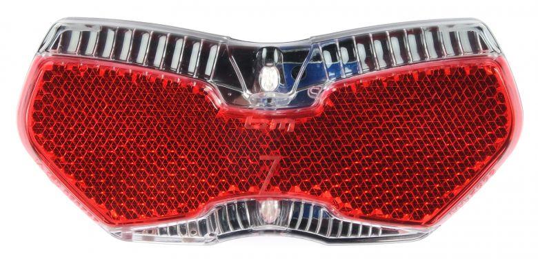 B&M Toplight View Elektrofahrrad Rücklicht - frontal