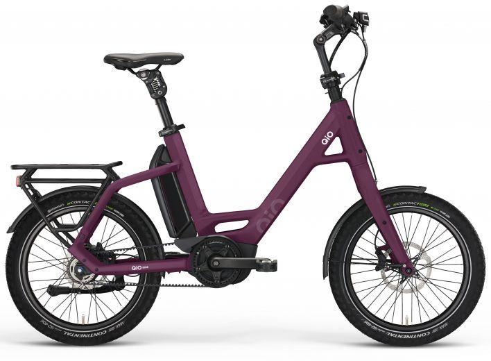 "Qio Eins P-5 Unisex Kompaktrad 20"" - Dark Violett"
