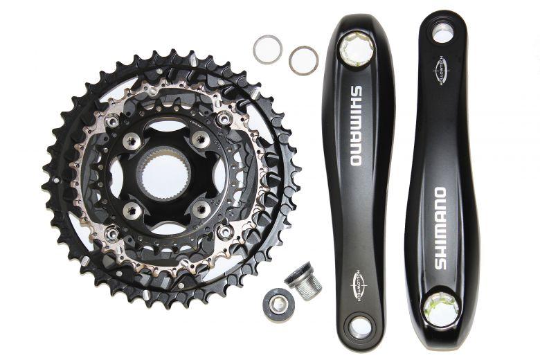 Shimano Ketteradgarnitur 44 Zähne, Panasonic 46,8V Hinterrad Antrieb