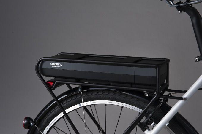 Shimano Gepäckträger-Akku STePS BT-E6000 für Elektrofahrrad