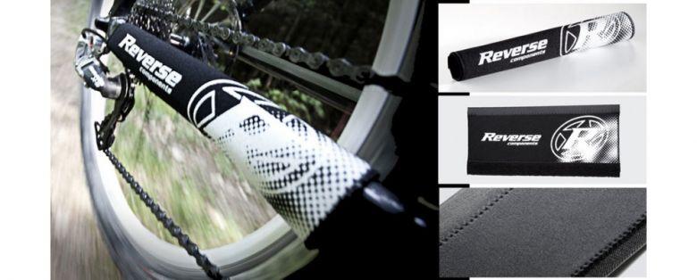Reverse Kettenstrebenschutz in Weiß