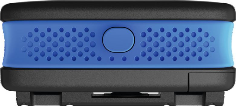 Abus Alarmbox in Blau - Front