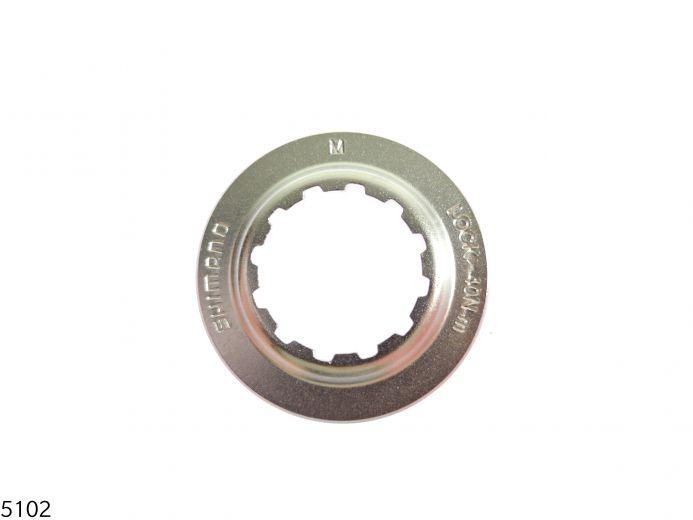 SHIMANO Centerlock Verschlussring für SM-RT67 - QR   Silber Bild 1