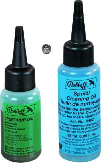 Rohloff Oil of SPEEDHUB 500/14 - Set 25 ml (Ganzjahresöl + Spülöl)
