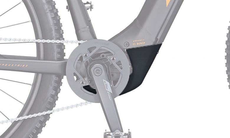 KTM Motor Abdeckung CX4 schwarz