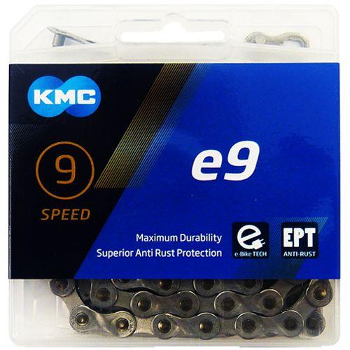 KMC e9 EPT - E-Bike Kette - 136 Glieder silber