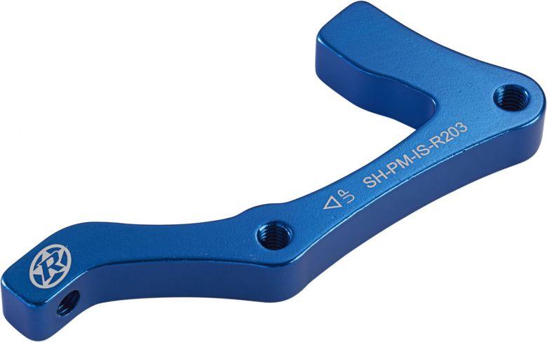 REVERSE Bremsscheibenadapter IS-PM 203 Shimano HR Blau