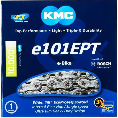 KMC e101 EPT - E-Bike Kette - 112 Glieder silber