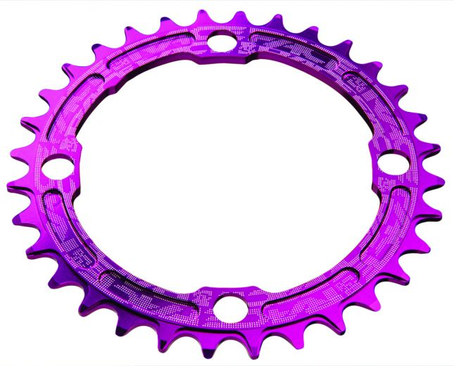 Race Face Chainring Single Narrow Wide 4-Bolt 104mm - 38 Zähne