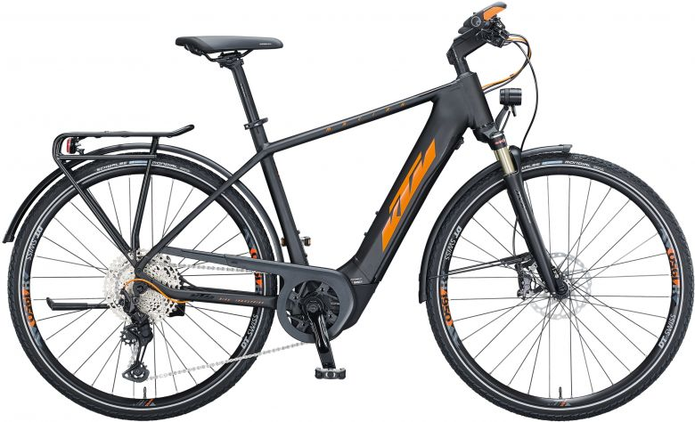 KTM Macina Sport 610 Herren - 2021 - black matt (orange flip + black)