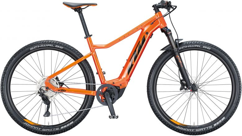 KTM Macina Race 291 eMTB - 2021 - fire orange (black + orange)