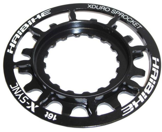 Haibike XDuro E-Bike 16 Zähne Motorritzel, schwarz