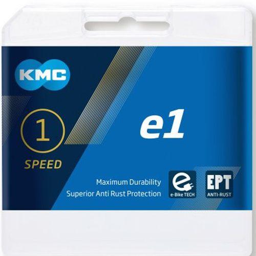 Kette KMC e1 EPT, E-Bike 110 Glieder, silber