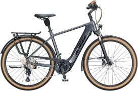 KTM Macina Style 620 Herren - 2021 - steel grey (black + orange)