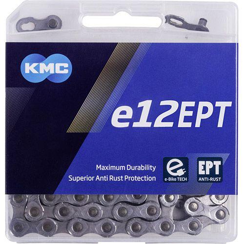 KMC e12 EPT - E-Bike Kette - 130 Glieder silber