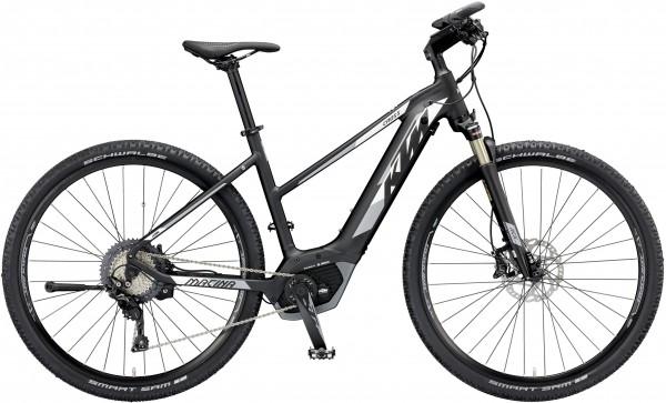 KTM E-Bike Macina Cross XT11 CX5 Cross 2019 Herren schwarz-weiß-grau