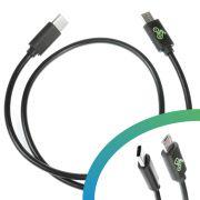 E-Bike USB-Ladekabel Micro USB-B auf USB C
