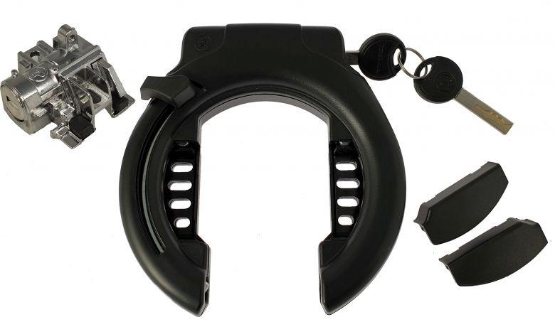 Trelock Schließzylinder + Rahmenschloss RS 453 Standard für Bosch Rahmenakku