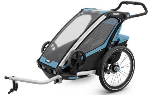 2017 Thule Chariot Kinder Fahrrad Anhänger Sport mit Scheibenbremse