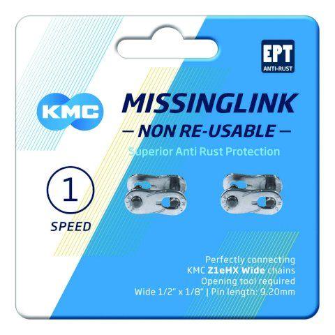 KMC Z1eHX Wide EPT MissingLink Kettenverschluss