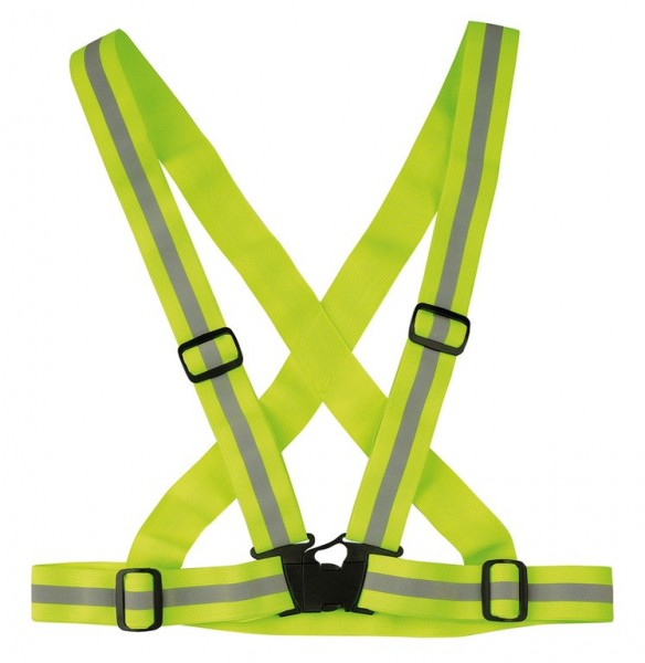 wowow E-Bike Reflexgut Cross Belt neon gelb