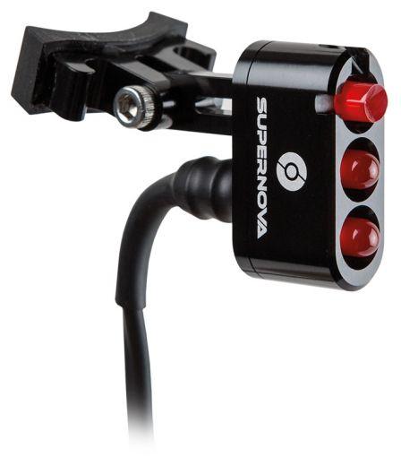 Supernova E3 Tail Light 6V E-Bike E-25 - Sattelstützmontage - Schwarz